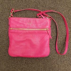 Kate Spade Pink Leather Shoulder Bag